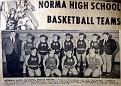 Norma HS Basket Ball Team - 1970 Boys Team