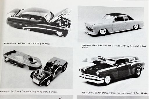Some models by the late Gary Burkey