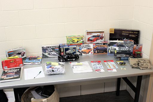 Monthly raffle table