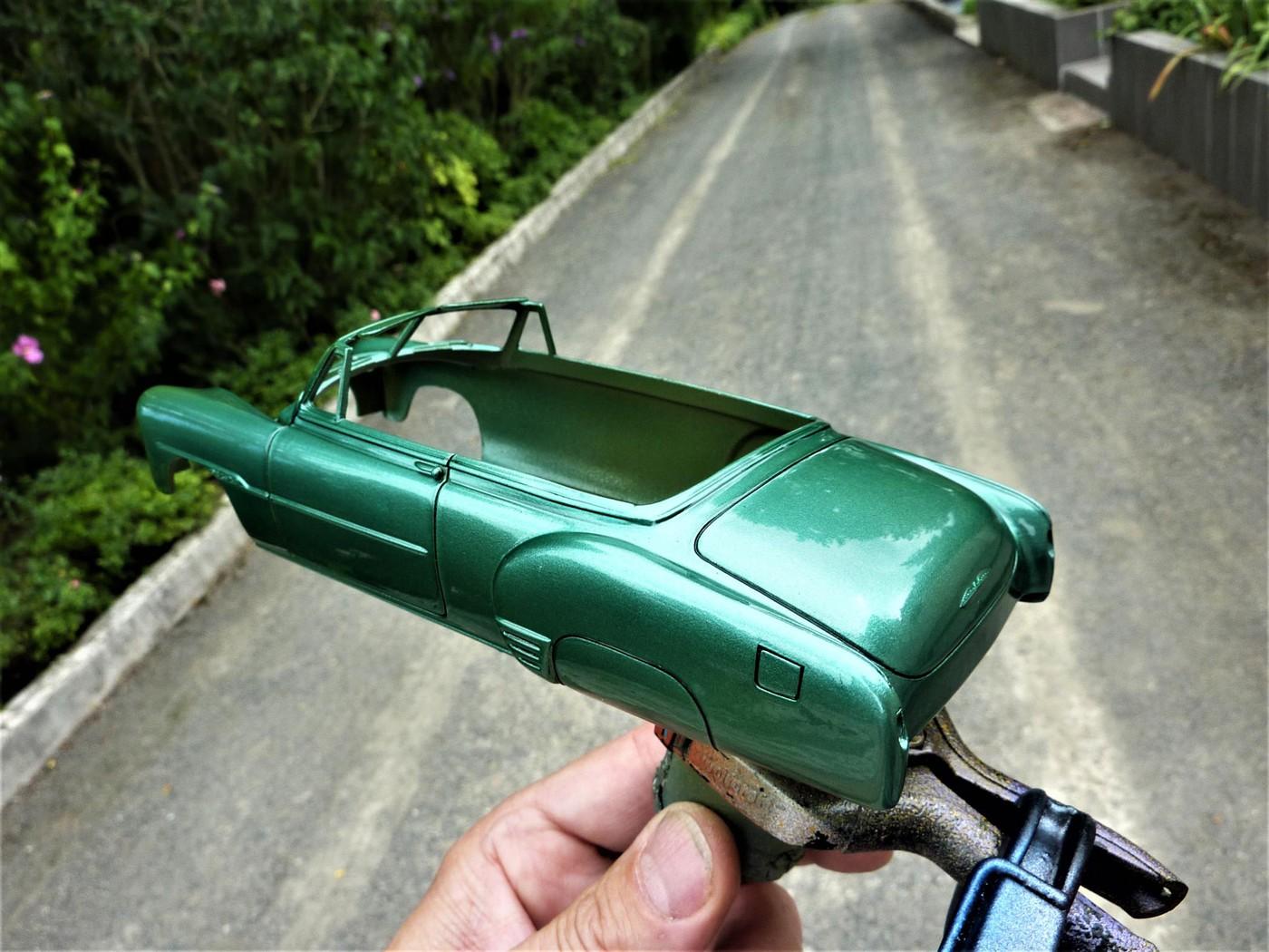 projet Chevrolet 51 convertible terminée  Photo2-vi