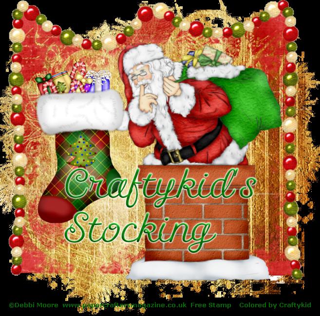 Craftykid Stocking  (Craftykid) CraftykidsStocking-vi