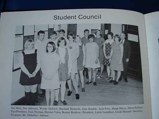 FayetteIaHighSchool1969Annual047