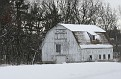 White Winter Barn #3