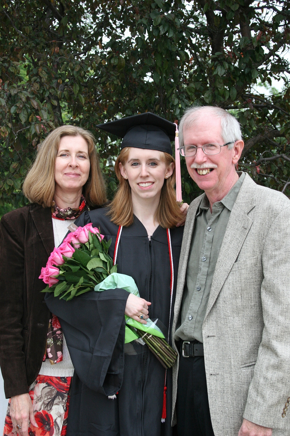 Graduation - Cindy, Shannon and Brian
