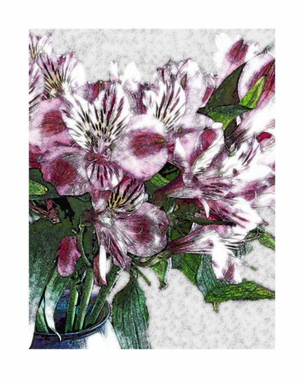 Soft Floral @2009 R valerie jagiello