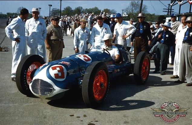 BillHolland3Indy1950