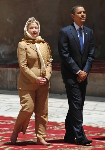 Pleasing her Muslim boss