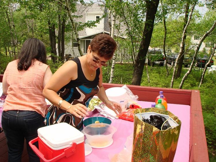 Kim's baby shower! 011