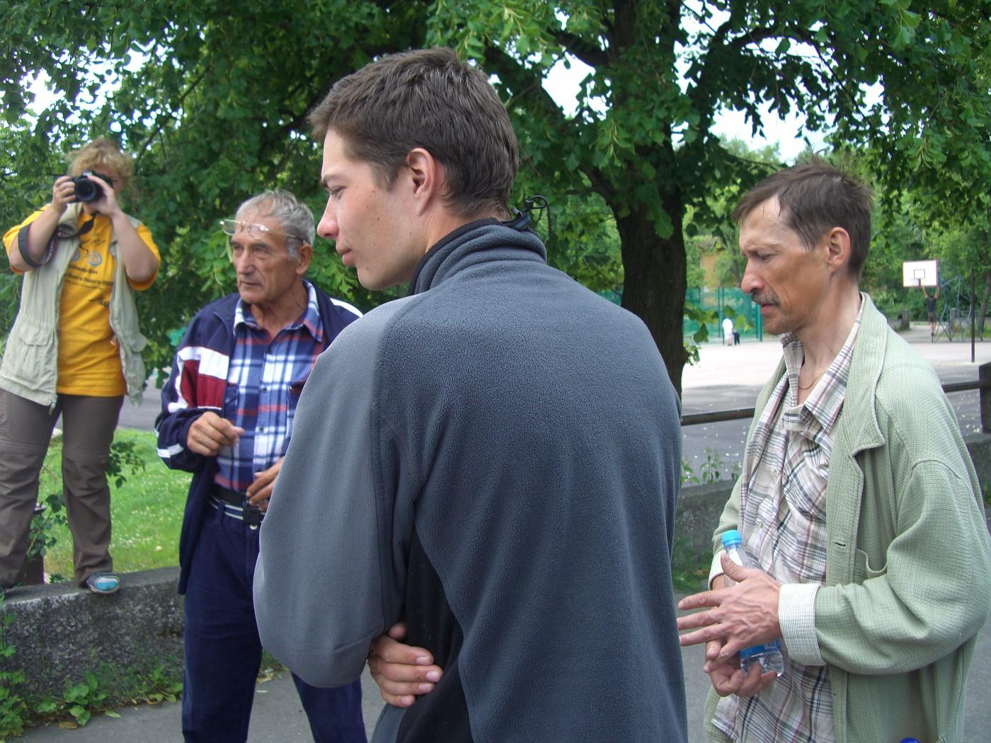 Elena, Kharis, Pavel & Alexey