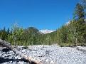 Cross the creek bed