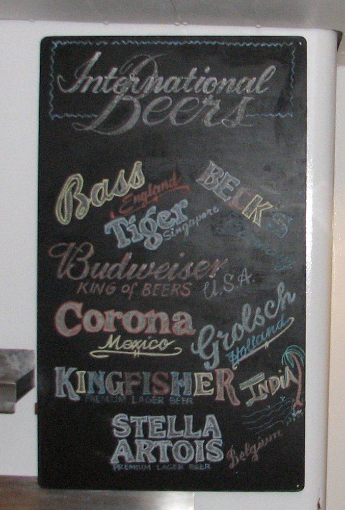 Terrace Bar International Beers
