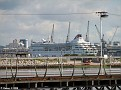 BRAEMAR over Hythe Pier