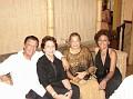 Pepe and Shirley Rose Bayard, Carole Hollant and Jessie Adrien