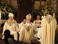 Bishop DiMarzio anointing head of Auxiliary Bishop Sansaricq