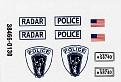 AMT 1970 Ford Galaxie Police Car