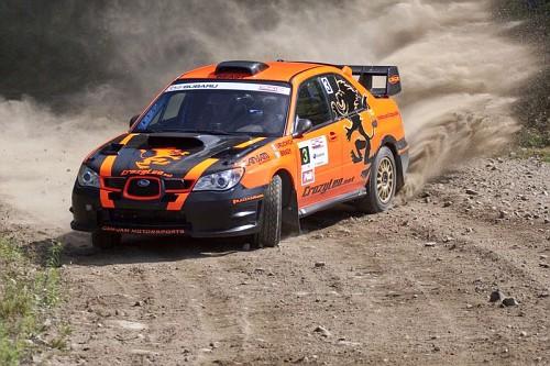 Crazy Leo Sube Rally Car