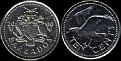 Barbados 2000 10 cents