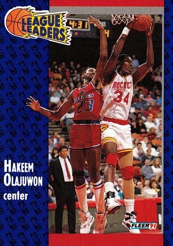1991-92 Fleer #223 (1)
