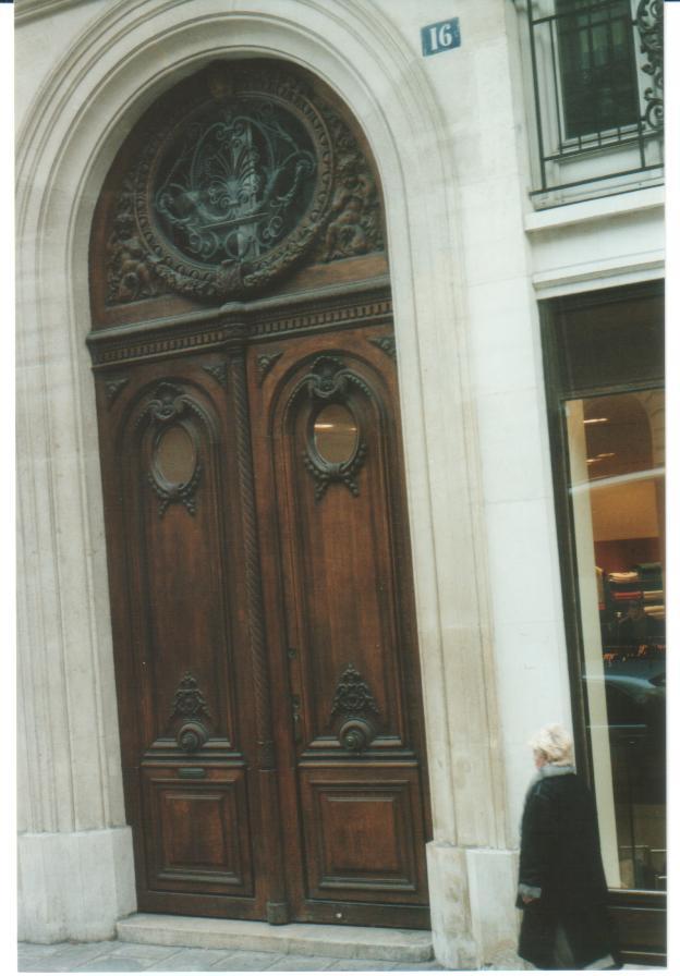 """The  """"Doors""""  In Paris"""