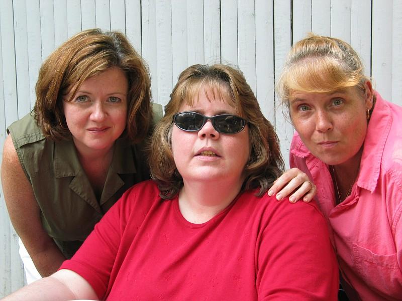 Kathleen, Ghetto Maureen, and Ann Marie