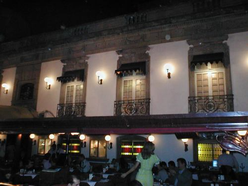 Мехико, Zona Rosa by night