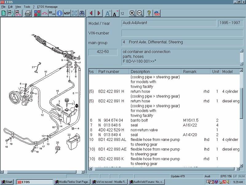 anatomy of a leaking high pressure power steering hose audiworld rh audiworld com audi tt power steering diagram Audi Body Diagram