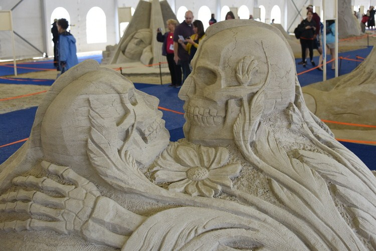 Sand Sculptures 2015 100