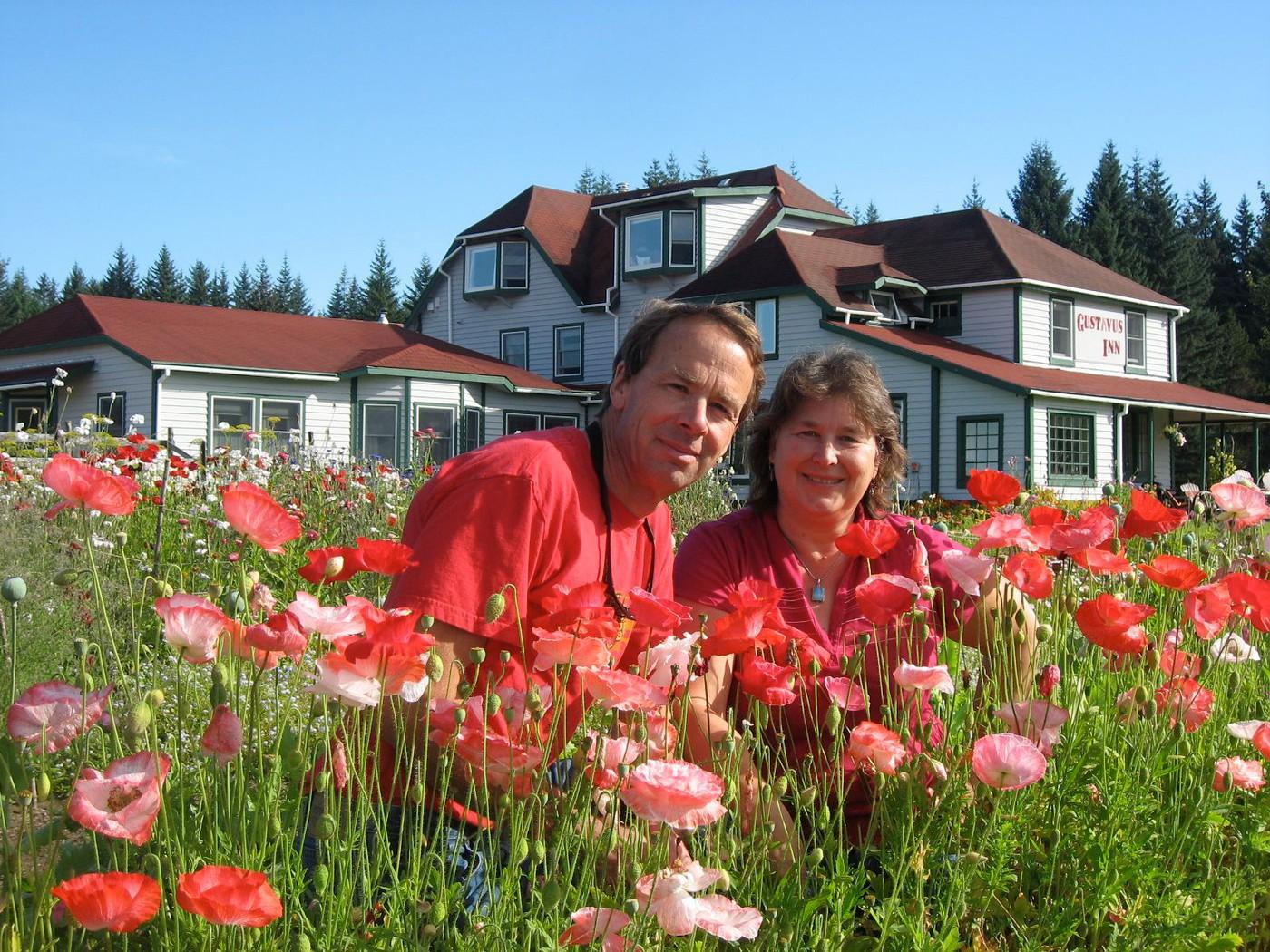 Innkeepers Dave and JoAnn Lesh