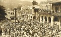 Funérailles de Dumarsais Estimé -  Place de la Cathédrale de Port-au-Prince. 2 Aout 1953.