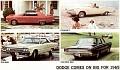 1965 Dodge, Brochure. 01