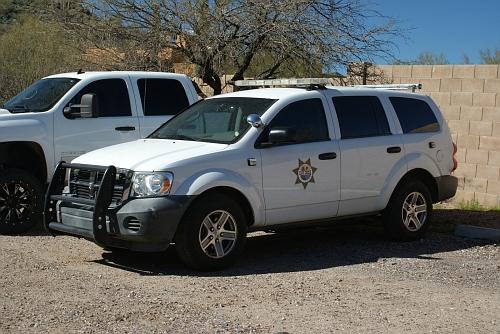AZ- Cave Creek Town Marshal Dodge Durango