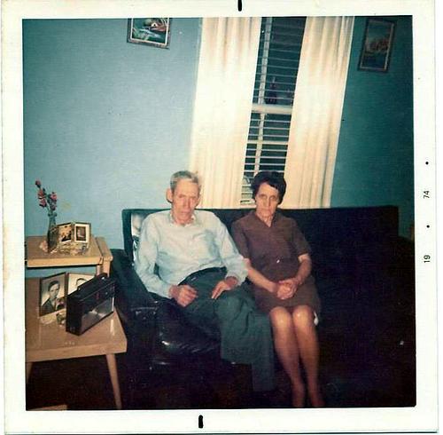 Hoyal Hatfield and Rosella Lawson Hatfield