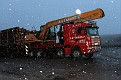 SN53 BNU   Scania 124G420 8x4 rigid timber crane