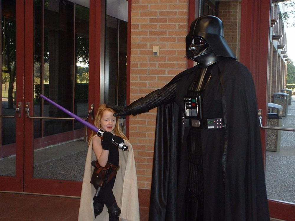 Too big for Darth Vader? - Page 3